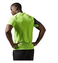 Reebok One Series Breeze SS T-Shirt Männer, Solar Green