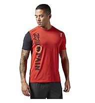 Reebok One Series Breeze SS T-Shirt Männer, Motor Red