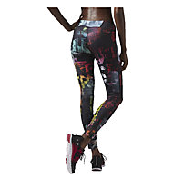Reebok One Series Chaos Advantage Legging donna, Solar Pink
