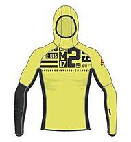 Reebok One Series DWR Speedweick Hoodie Kapuzen-Sweatshirt Herren, Yellow