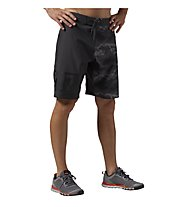Reebok One Series Nasty Camo Boardshorts, Coal Black