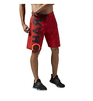 Reebok One Series Power Nasty Lightweight Shorts Männer, Motor Red