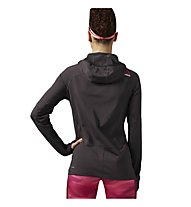 Reebok One Series Speedwick Water Resistant Hoodie Kapuzenpullover Damen, Coal Anthracite