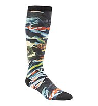Reebok One Series Training Socks Calzini Lunghi, Black