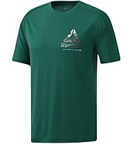 Reebok One Series Training Speedwick Graphic - T-shirt fitness - uomo, Green