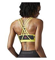 Reebok One Series Hero Strength Bra Sport-BH Damen, Yellow