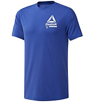 Reebok OST SpeedWick Move - T-shirt fitness - uomo, Light Blue