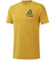Reebok OST SpeedWick Move - T-shirt fitness - uomo, Yellow