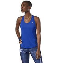 Reebok Perform Mesh - top fitness - donna, Blue