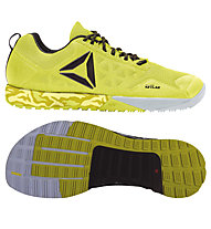 Reebok R Crossfit Nano 6.0 Herren Trainingsschuh, Yellow/Black