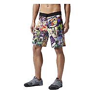 Reebok Crossfit Core Boardshort, Excellent Red