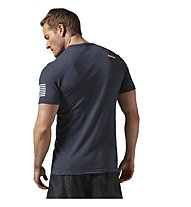 Reebok CrossFit Forging Elite Fitness T-Shirt Herren, Blue