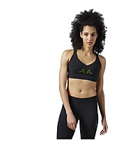 Reebok Reversible Bra Sport-BH Damen, Yellow