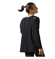 Reebok Studio Lux Wool Blend Cover Up Pullover Damen, Black