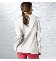 Reebok S Sweatshirt Damen, Chalk