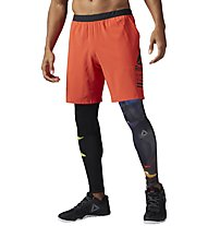 Reebok Speed - kurze Trainingshose - Herren, Orange