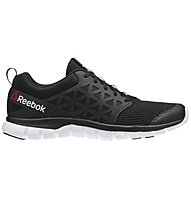Reebok Sublite XT Cushion 2.0 MT - scarpe da ginnastica, Black/White