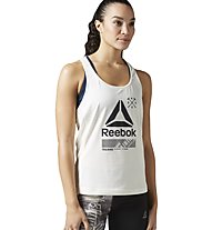 Reebok Activechill Graphic - Top - Damen, White