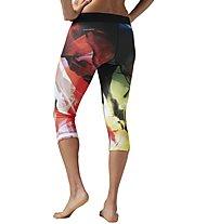 Reebok Capri Acid Fade - Trainingshose - Damen, Multicolor