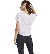 Reebok TS Burnout - Trainingsshirt - Damen, Pink