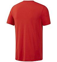 Reebok WOR Supremium Graphic Tee - T-Shirt Training - Herren, Red