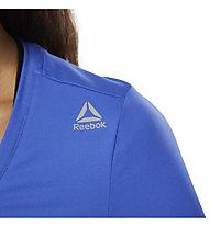 Reebok Workout Ready Speedwick - T-shirt fitness - donna, Light Blue