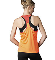 Reebok Workout Ready Top Trainingsshirt Damen, Light Orange