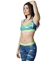 Reebok Workout Ready Skinny Sport-BH, Seafoam Green