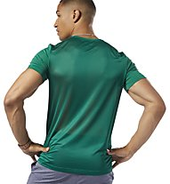 Reebok Workout Ready ActiveChill Graphic - T-shirt fitness - uomo, Green