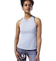 Reebok Workout Ready MYT Poly - canotta fitness - donna, Light Grey