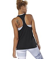 Reebok Workout Ready Supremium 2.0 - top fitness - donna, Black