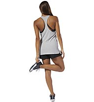 Reebok Workout Ready Supremium 2.0 - top fitness - donna, Grey