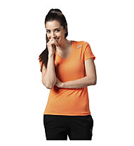 Reebok Workout Ready Supremium T-Shirt Damen, Light Orange