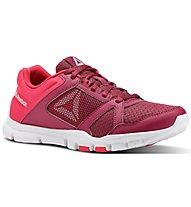 Reebok Yourflex Trainette 10 MT - scarpe fitness e training - donna, Red