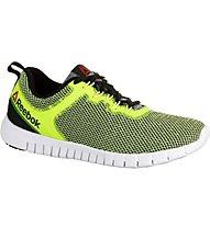 Reebok Zquick Lite - scarpa da ginnastica - uomo, Black/Yellow