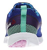 Reebok ZQuick Lite - Damen Sportschuhe, Blue/Purple