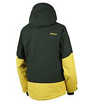 Rehall Aspen-R - Isolationsjacke mit Kapuze - Herren, Dark Green/Yellow