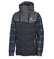 Rehall Bratt R - giacca da snowboard - uomo, Grey/Blue