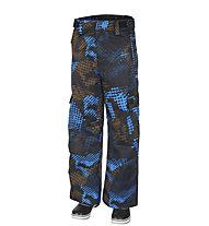 Rehall Carter-R - Snowboardhose - Kinder, Black/Light Blue