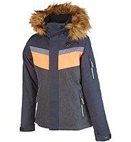 Rehall Darcy - Skijacke - Mädchen, Grey/Orange