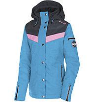 Rehall Fray - giacca snowboard - bambina, Light Blue