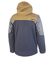 Rehall Jaxon-R - giacca sci freeride e snowboard - uomo, Dark Blue/Brown