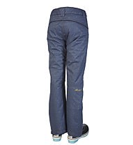 Rehall Lottie-R - pantaloni sci freeride e snowboard - donna, Blue Denim
