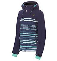 Rehall Maggy-R - giacca sci e snowboard - bambino, Blue/Light Blue