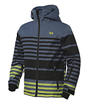 Rehall Radar-R Jr. Kinder-Snowboardjacke, Stripes Lime Green