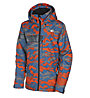 Rehall Raid - Snowboardjacke - Kinder, Light Blue/Orange