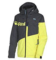 Rehall Raid - Snowboardjacke - Kinder, Grey/Yellow