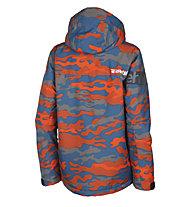 Rehall Raid - Snowboardjacke - Kinder, Light Blue/Orange