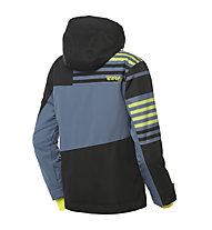 Rehall Receiver-R Yth. Kinder-Snowboardjacke, Stripes Lime Green