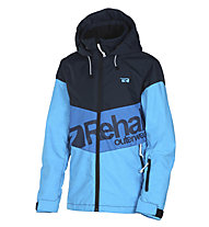 Rehall Ried - Snowboadjacke - Kinder, Blue/Light Blue